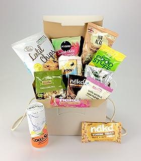 Gluten free snack hamper by ds delta ireland ltd odonnells love vegan box large selection including protein nuts nakd popcorn 100 negle Choice Image