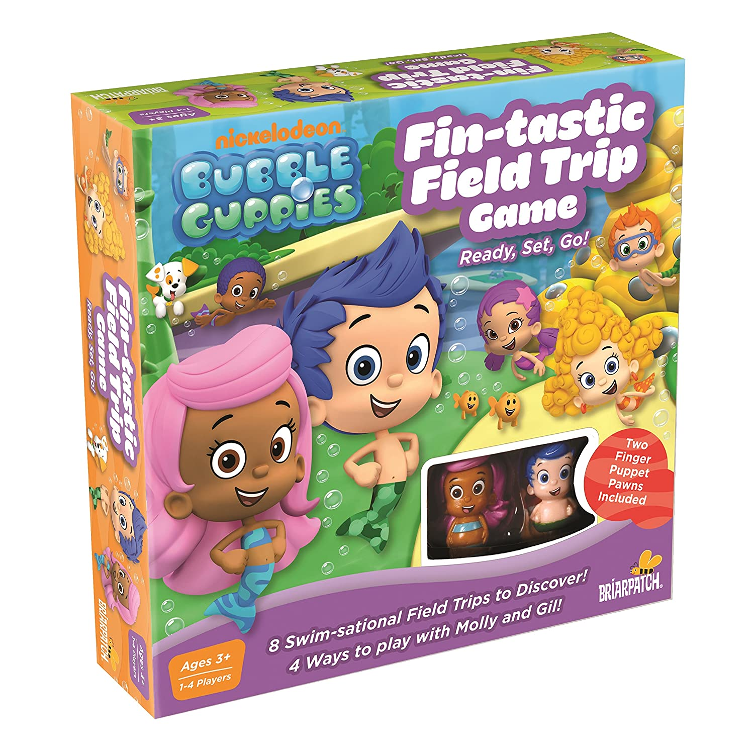 Bubble Guppies Game, 10.5 x 10.5 by University Games