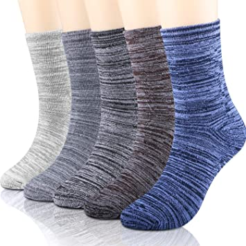 2d26ab08150 WOSTOO Chaussettes Homme
