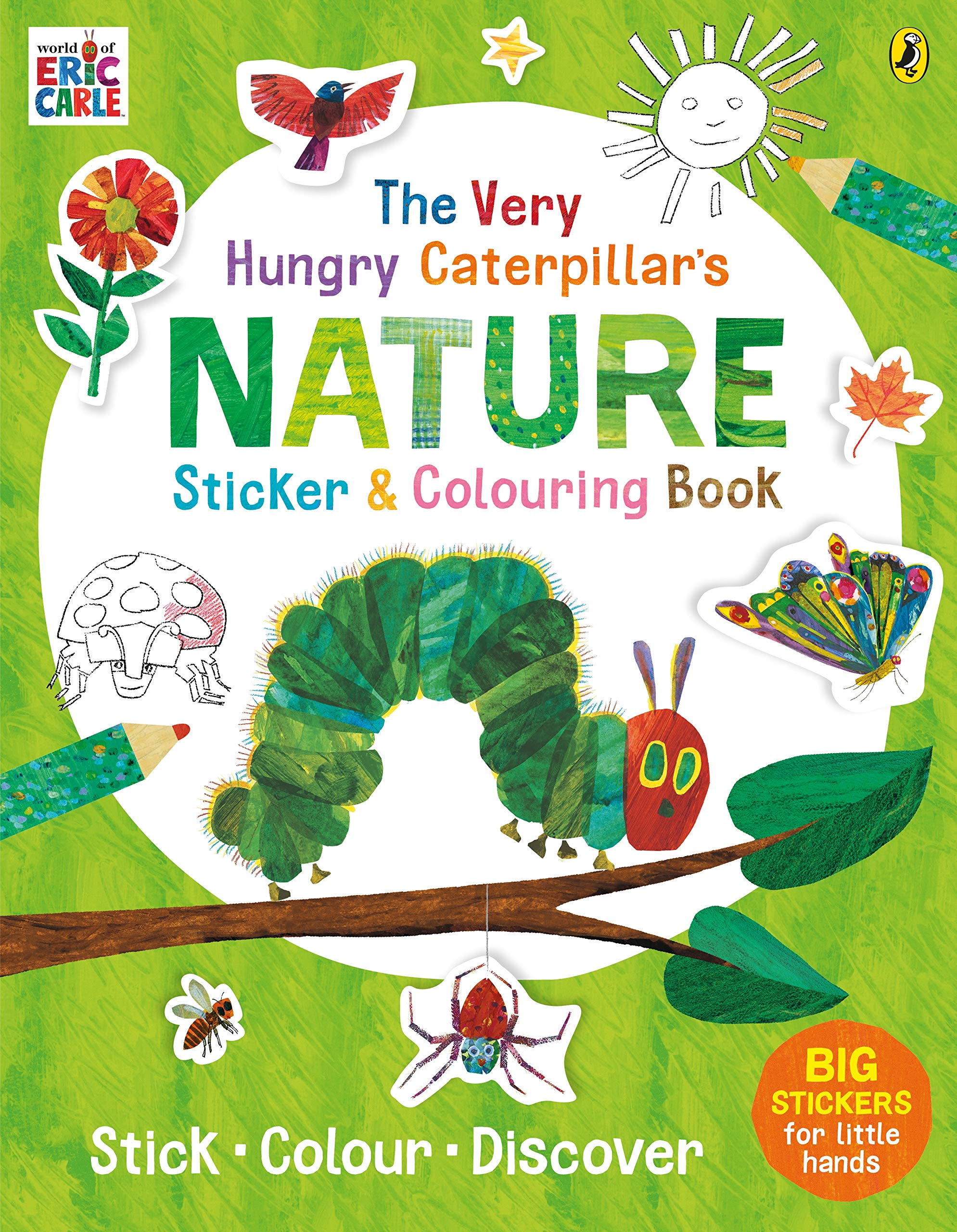 The Very Hungry Caterpillar\'s Nature Sticker and Colouring ...