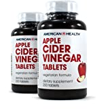 American Health Apple Cider Vinegar Tablets Pack of 2