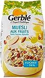 Gerblé Muesli aux fruits sans sucres ajoutés 375 g