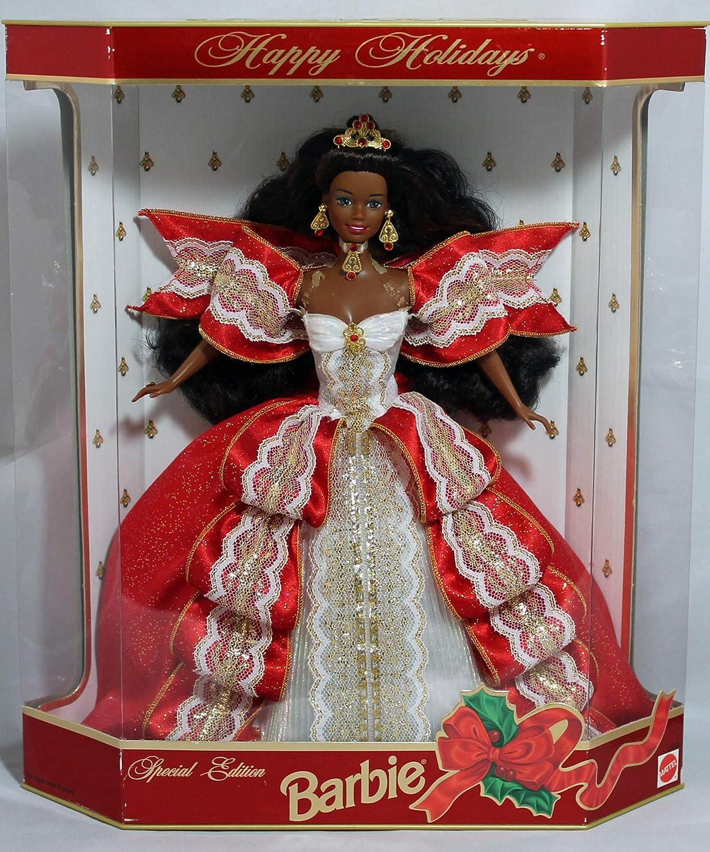 NIB Happy Holiday SE Barbie 1997