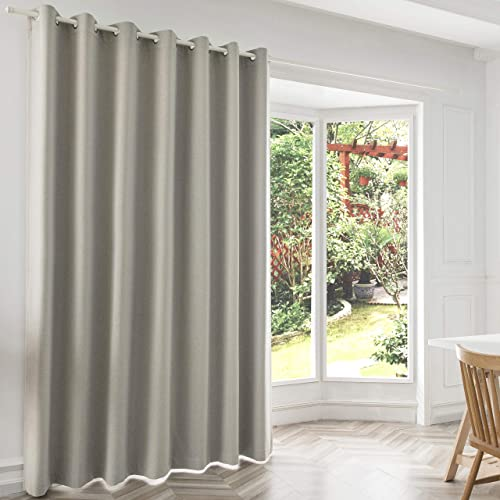 JINLEETOWN 100 Blackout Linen Curtain