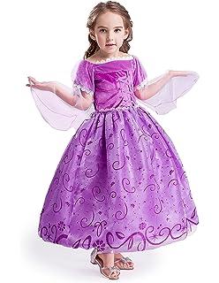 ELSA   ANNA® Ragazze Principessa Abiti Partito Vestito Costume IT-NW12-RAP a9624fc0df4