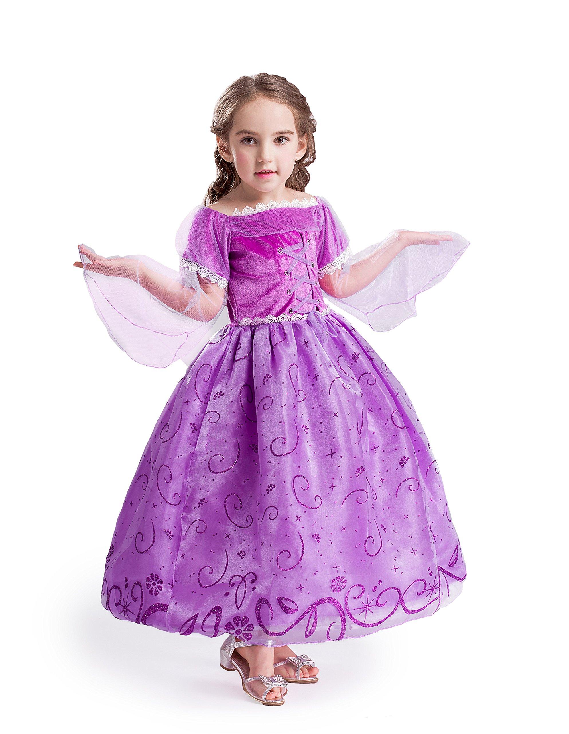 ELSA   ANNA® Ragazze Principessa Abiti Partito Vestito Costume IT-NW12-RAP ( 18a2b810991