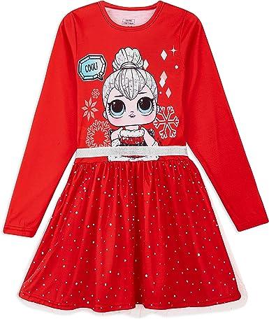 Fancy Tutu Dresses LOL Surprise Girl Doll Dress Kids Gift Cute Party Costume UK