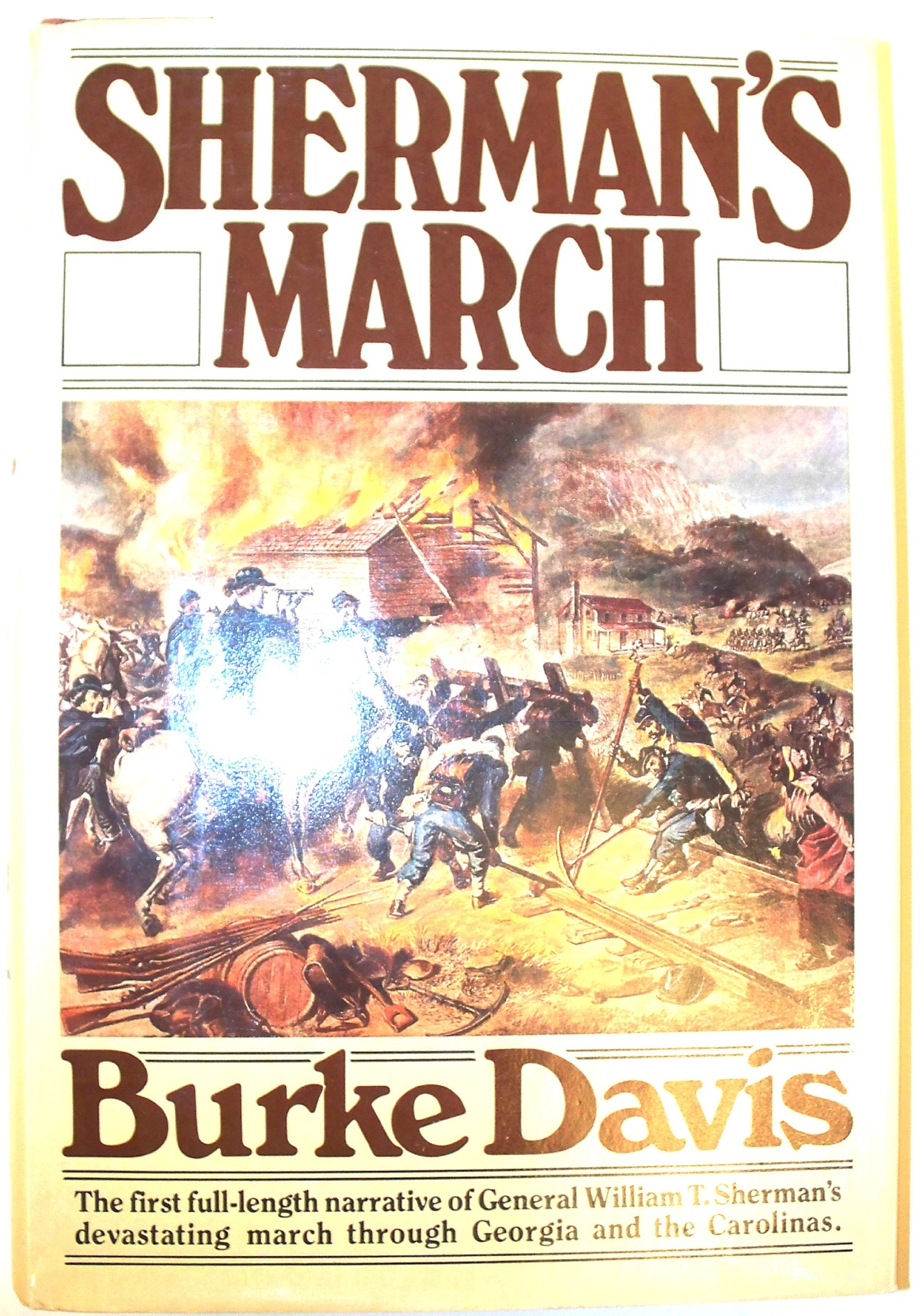 Sherman's March, Davis, Burke