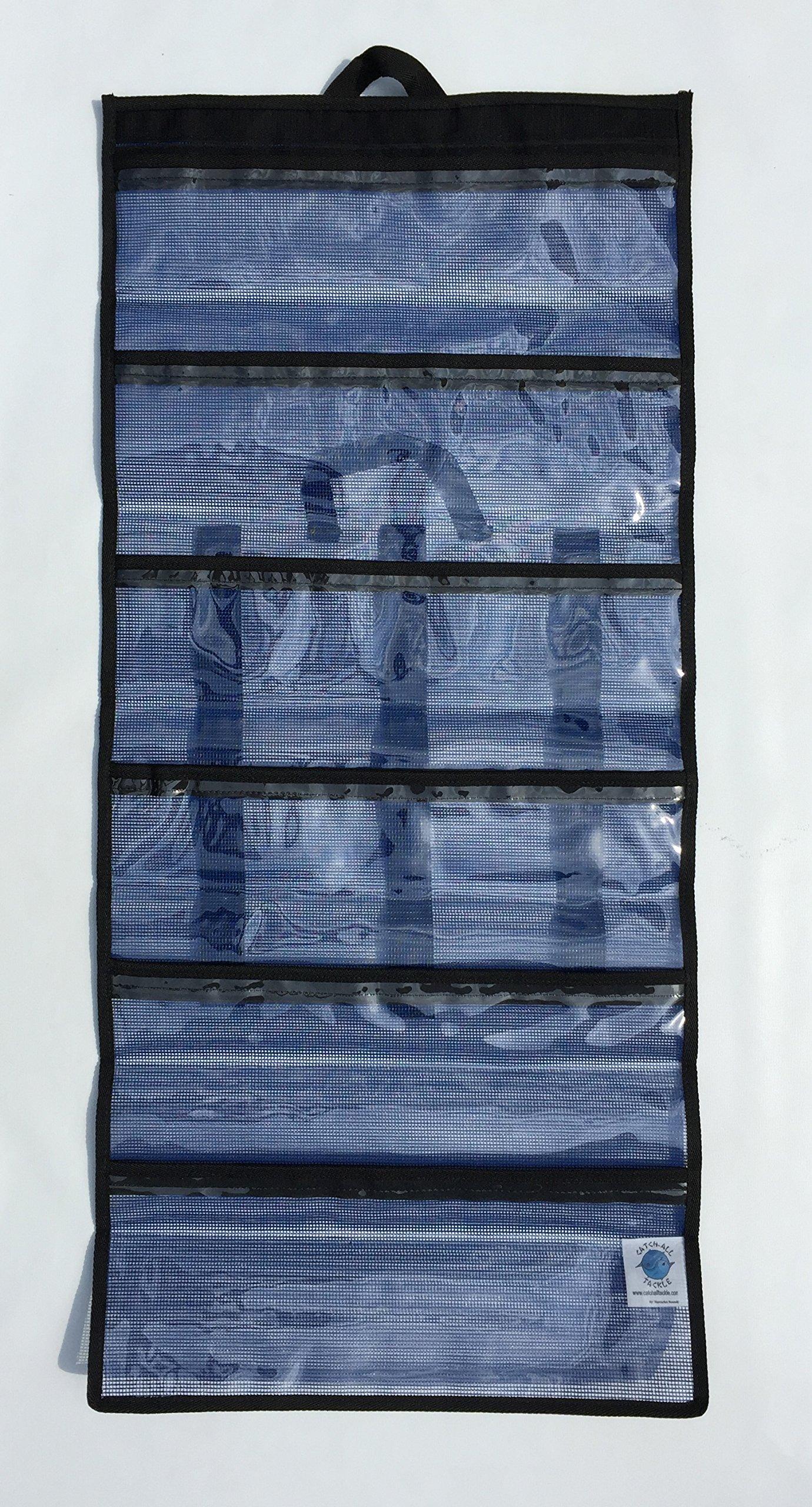 Nantucket Bound 6 Pocket Large Big Game Roll Up Lure Bag 20''