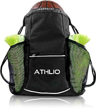 ATHLIO Drawstring Gym CrossFit Backpack