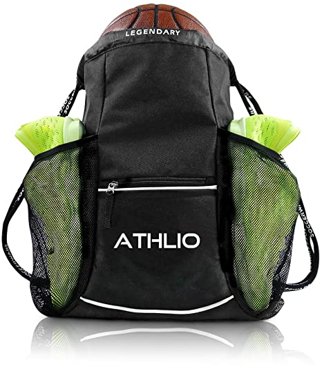 a89b39ed91d5 Legendary Drawstring Gym Bag - Waterproof | For Sports & Workout Gear | XL  Capacity | Heavy-Duty Sackpack Backpack