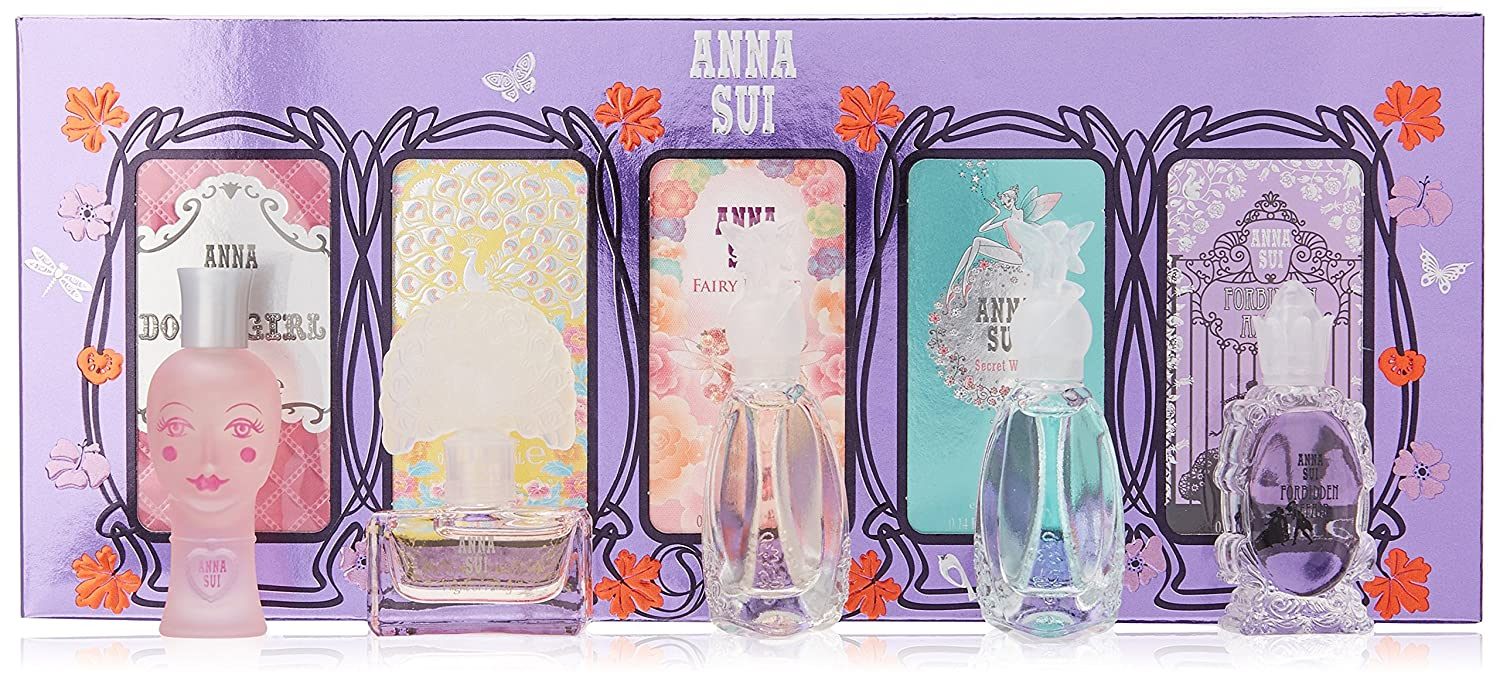 Anna Sui ANS51 Variety for Women 5 Pc Gift Set 0085715088802
