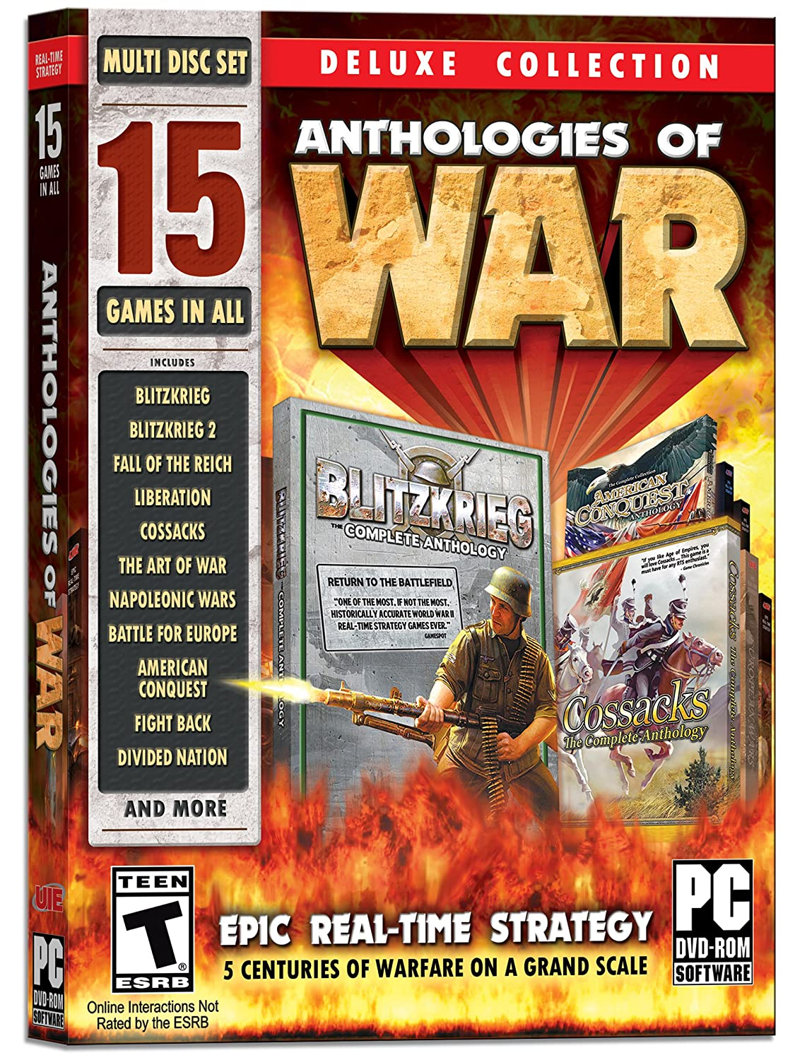 Amazon.com: Anthologies of War: Deluxe Edition - 15 Games in All: Software