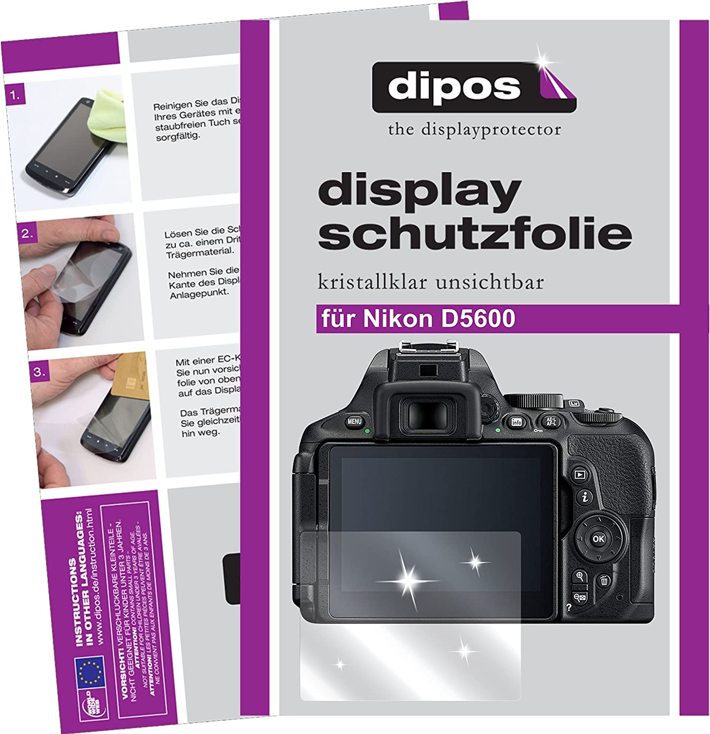 Dipos Crystalclear Screen Protectors For Different Computers Accessories