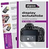 Nikon D5600 Schutzfolie - 6x dipos Displayschutzfolie Folie klar