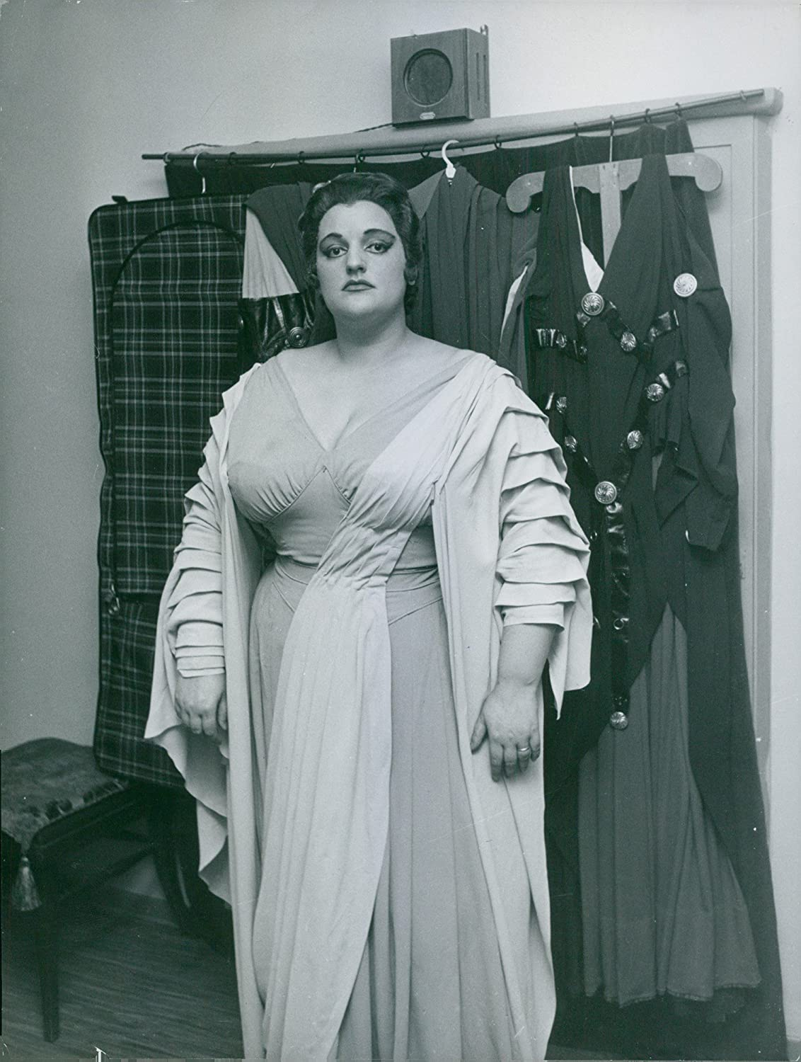 Amazon.com: Vintage photo of Anita Carquetti is wearing a long dress.:  Entertainment Collectibles
