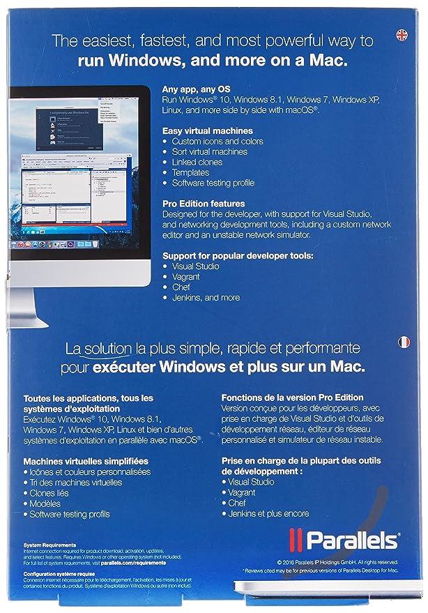 Parallels Desktop 12 for Mac - Pro Edition: Amazon co uk