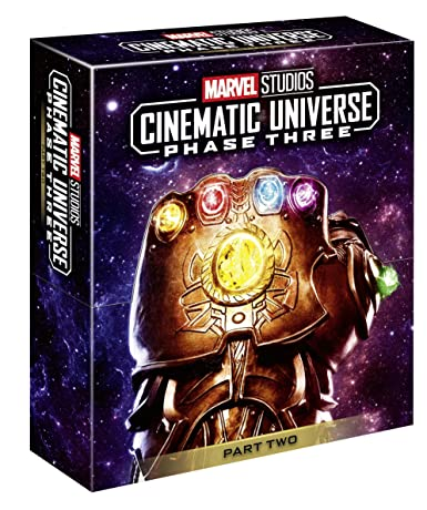 Marvel Cinematic Universe Phase 3.2 Italia Blu-ray: Amazon.es: Cine y Series TV