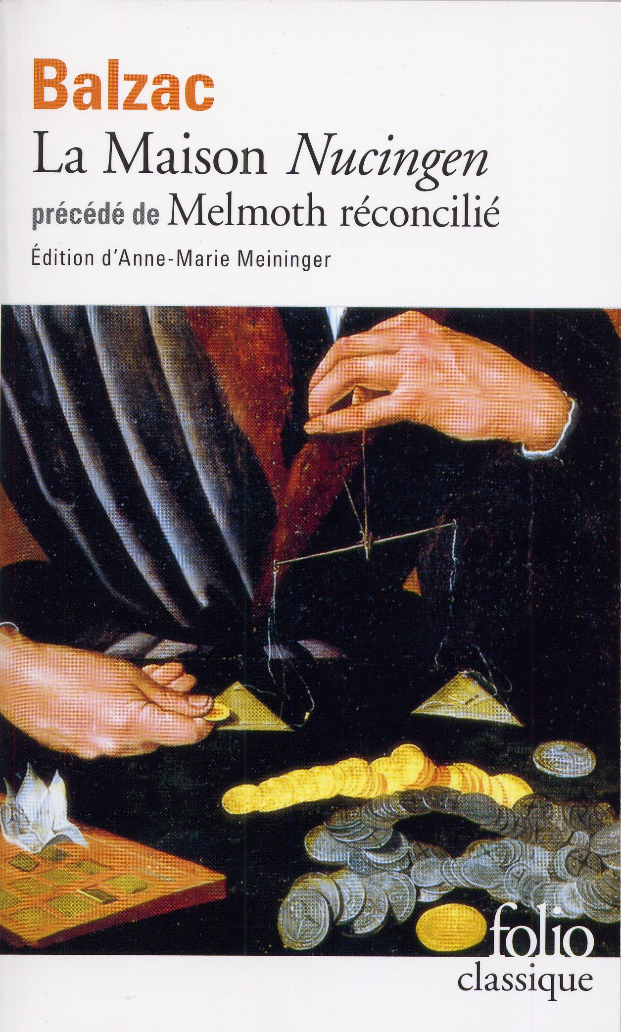 La Maison Nucingen Folio Classique Amazon Co Uk Honore De Balzac  Books