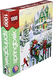 product image for Springbok's 1000 Piece Jigsaw Puzzle Holiday Mail