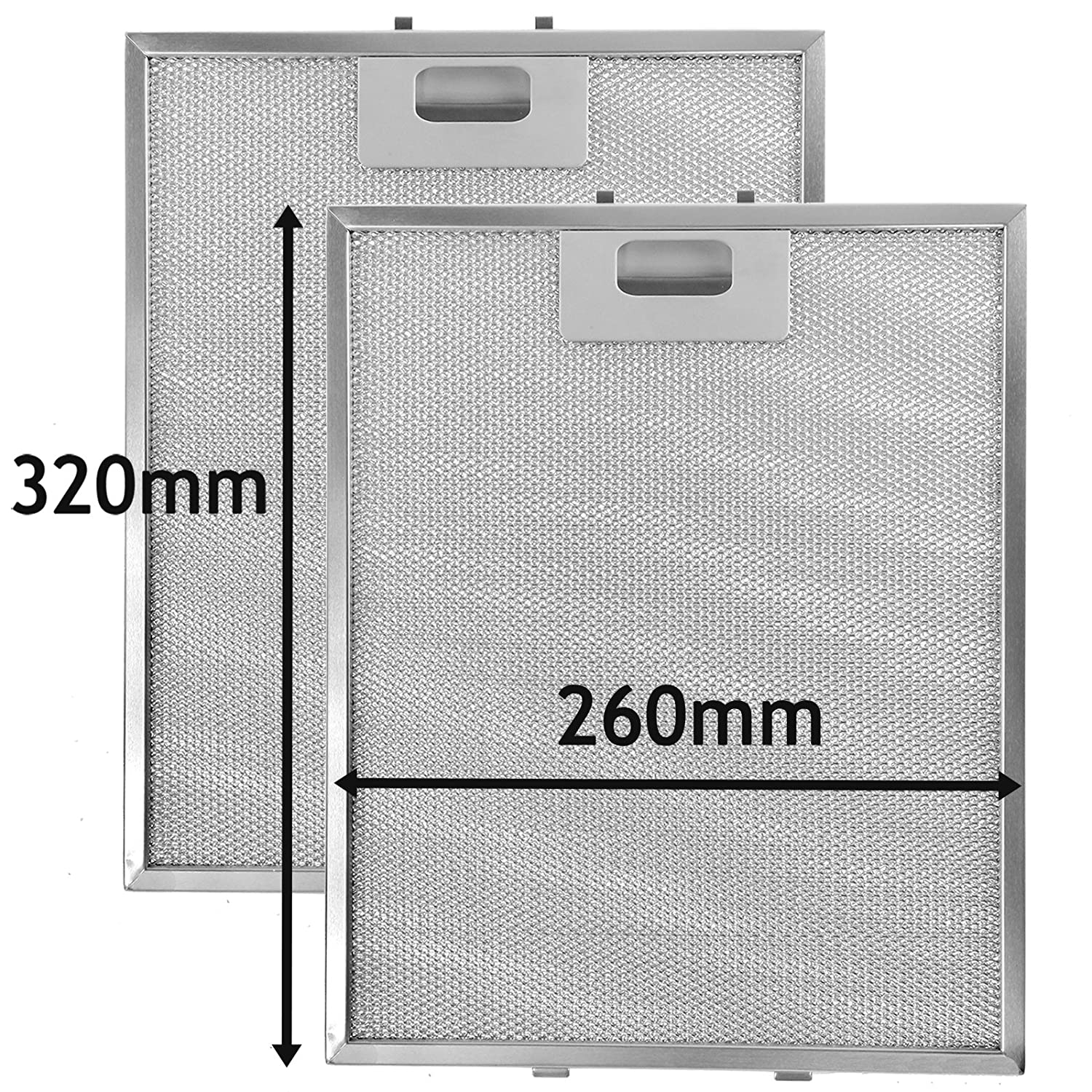 spares2go Metall Mesh Filter für Philips Whirlpool