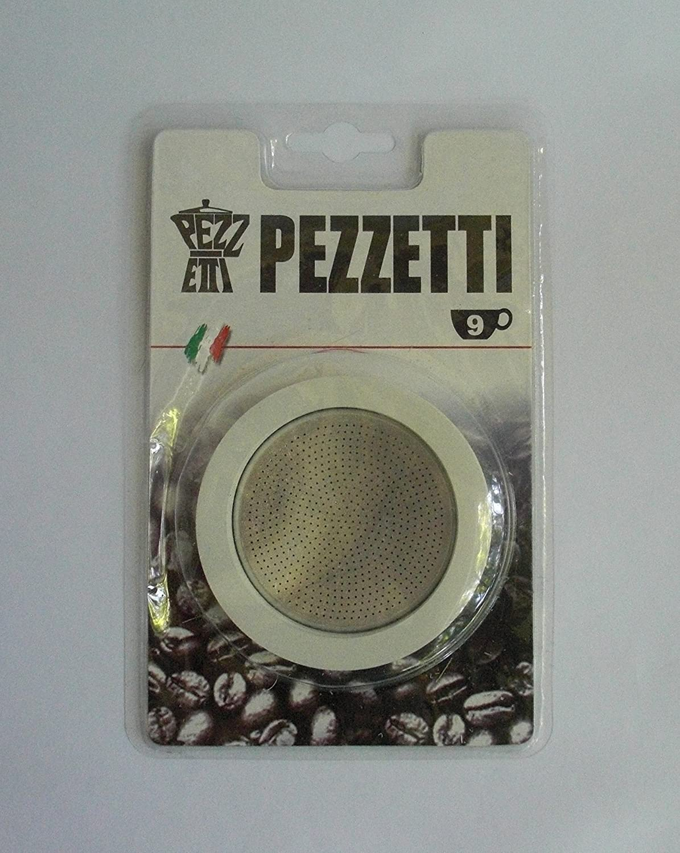 2 Cup Pezzetti 3/Guarnizione in Gomma//Anelli Filtro/ /Replacement- Misure 1,2,3,6,9,14/Tazze da caff/è Espresso Moka Pot