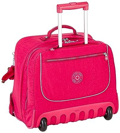1ff4e7364f Kipling CLAS Dallin, Wheeled Schoolbag, 42 cm, 25 Liters, Pink - Cherry