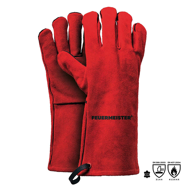 """1 Paar Schweißerhandschuhe /""""MAX/"""" Größe 10 aus Spaltleder"""