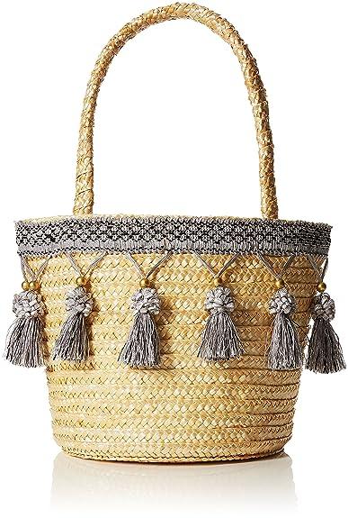 Womens Tassel Wheat Straw Basket Bag Joe Browns s4weOE