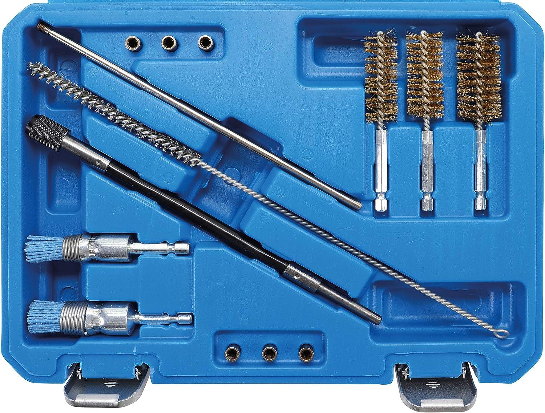 9 Tlg Injektor Fr/äser Schacht Diesel Einspritzd/üsen Injektoren Inkl Aufbewahrungskoffer