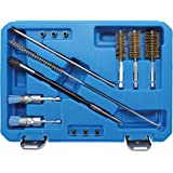 BGS 9324 | injectorstoel- en schachtreinigingsset | injector staaldraadborstels/nylon borstels