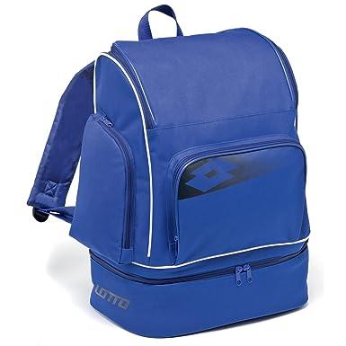 Lotto - Mochila modelo Omega II Football (Talla Única/Azul): Amazon.es: Ropa y accesorios