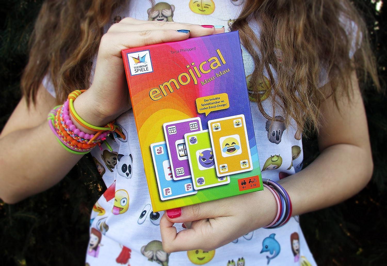 Starnberger Spiele 86045 - Emojical Mau-Mau - Spaßiges Kartenspiel ...