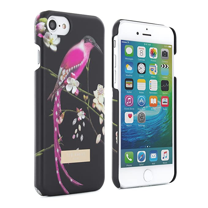finest selection c67dd 4833a Amazon.com: Ted Baker iPhone 7/6/6s Hard Shell Cell Phone Case ...