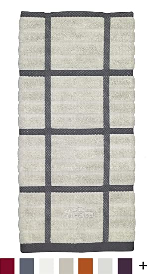All Clad Textiles 100 Percent Combed Terry Loop Cotton Kitchen Towel,  Oversized,