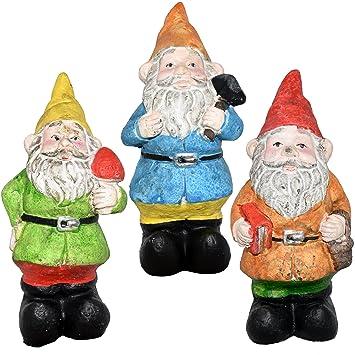 Mini Gnomes Garden Fairy Set Of 4
