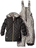 Amazon Price History for:Pink Platinum Girls' Quilted Snowsuit with Cheetah Print