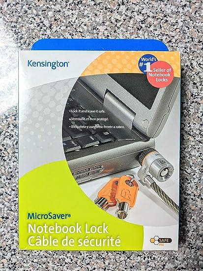 Steel Kensington Microsaver 64068 Notebook Lock 6 Ft