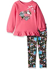 c0974b414 Hello Kitty Girls' Little 2 Piece Legging Set, Light Pink, 5