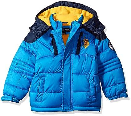 1f4c172de Amazon.com  U.S. Polo Assn. Boys  Bubble Jacket (More Styles ...