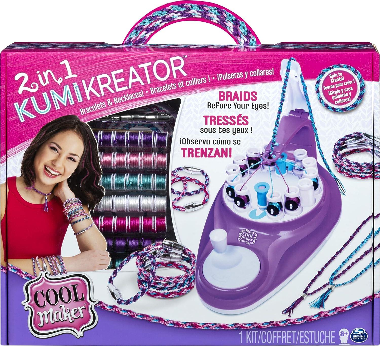 Spin Master - Kit de Pulseras y collares para niños