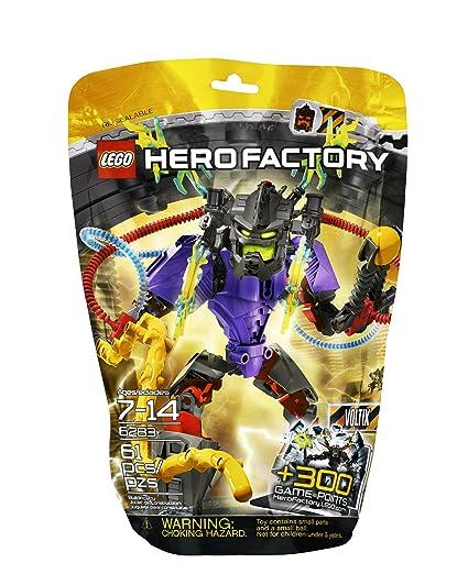 Amazoncom Lego Hero Factory 6283 Voltix Toys Games