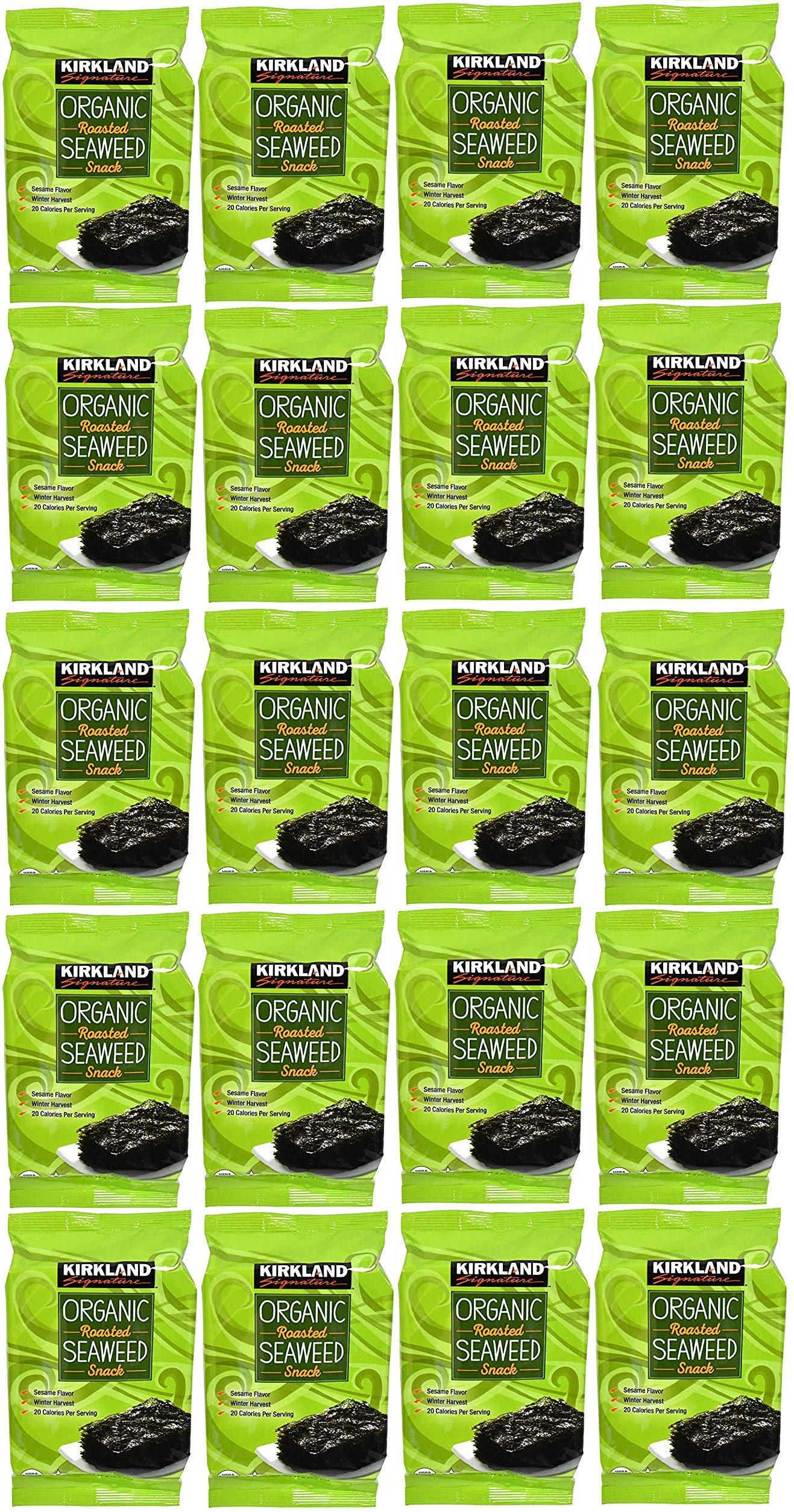 Organic Roasted Seaweed Snack 20 Pack
