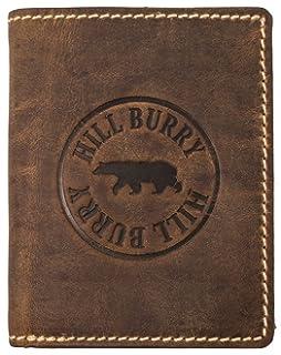 024d5e08962f0 Hill Burry Herren Echt-Leder Geldbörse