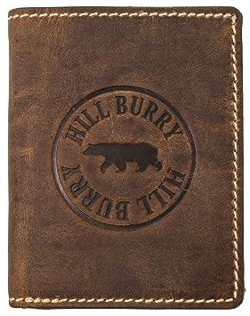 Hill Burry Portefeuille Cuir Véritable Homme   porte-monnaie en cuir  véritable de première qualité 07d11e0e628