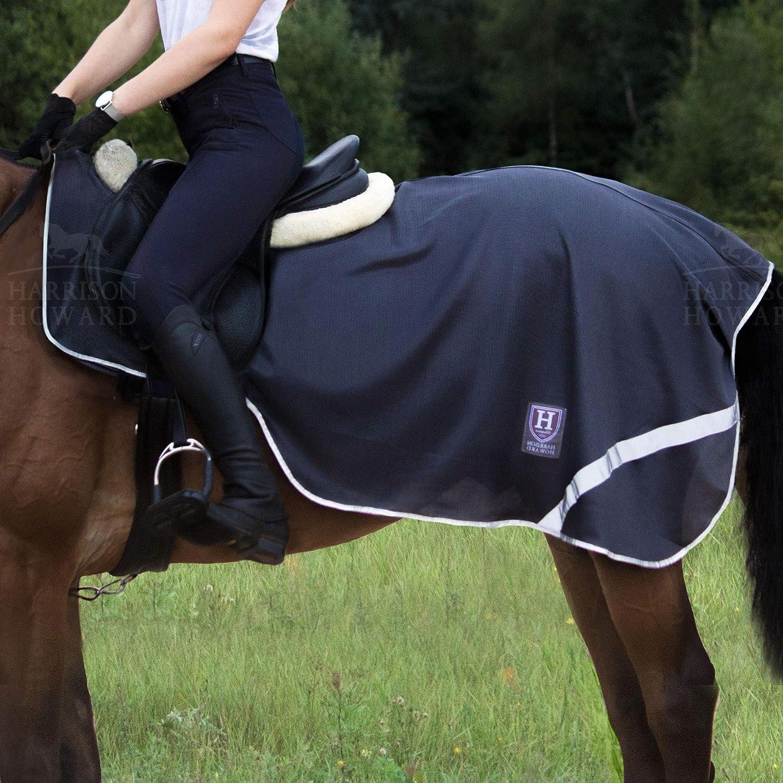 Swish Equestrian Waterproof Exercise Sheet//Horse Waterproof Exercise Rug Navy