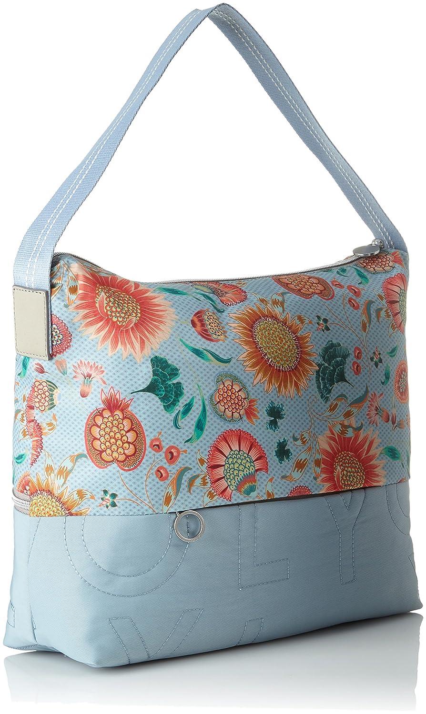 Oilily Charm Sunflower Hobo Lhz Light Blue Women/'s Bag 12x31x36 cm B x H T Blue