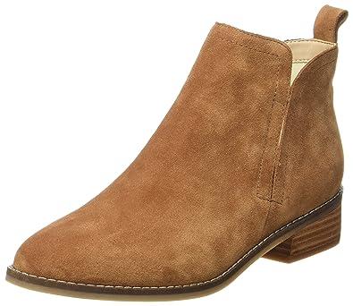 Buffalo 416-7396 Indios Leather, Bottes de Glissement Femme, (Black 01), 38 EU