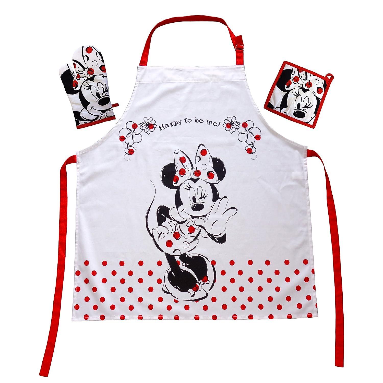 El regalo para los Walt Disney Minnie Mouse Fan: delantales de ...
