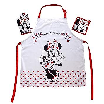 Das Geschenk für den Walt Disney Minnie Mouse Fan: Kochschürzenset